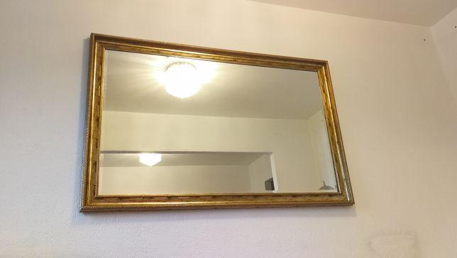 Lustro 166x107 cm złota rama (nie Ikea i nie BRW) kupione w Castorama