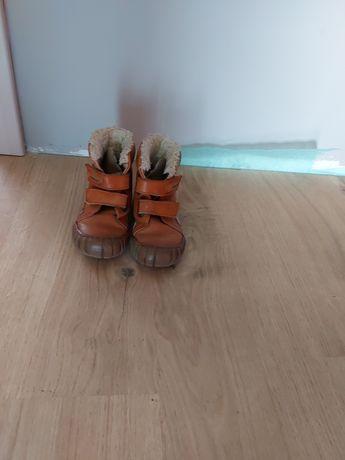 Buty zimowe rozm. 25 chłopięce