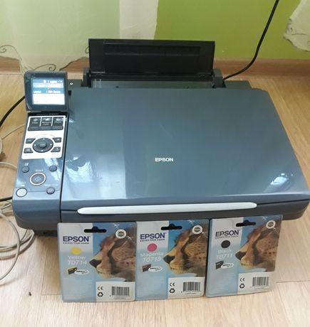 Drukarka, urządzenie, Epson Stylus DX8400 + kpl. tusz Epson