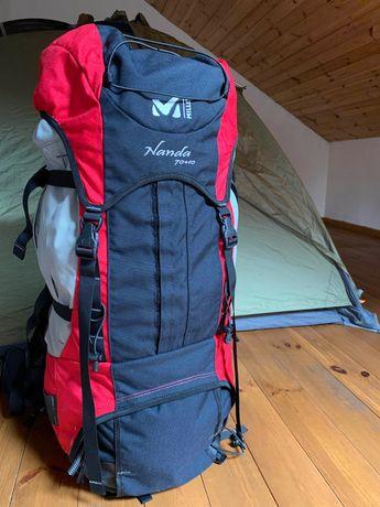 Рюкзак MILLET Nanda 70 +10 невероятное качество, состояние нового