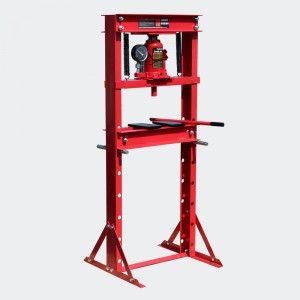 prensa hidráulica 20 toneladas com manómetro