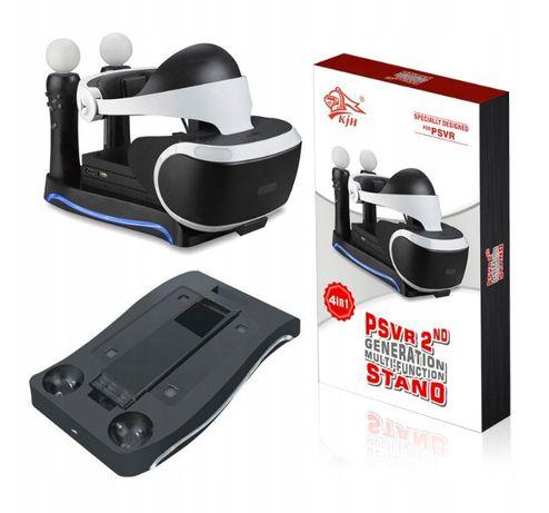 Podstawka Ładowarka Uchwyt do PS4 PS VR MOVE LED