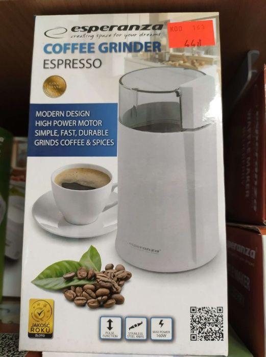 Młynek do kawy Nowy 2 Lata gwarancji Esperanza Lombard Madej SC