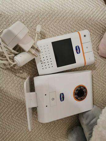 Câmara bebé intercomunicador com câmara