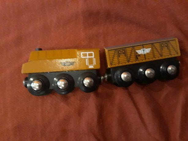 Kolejka z wagonikiem