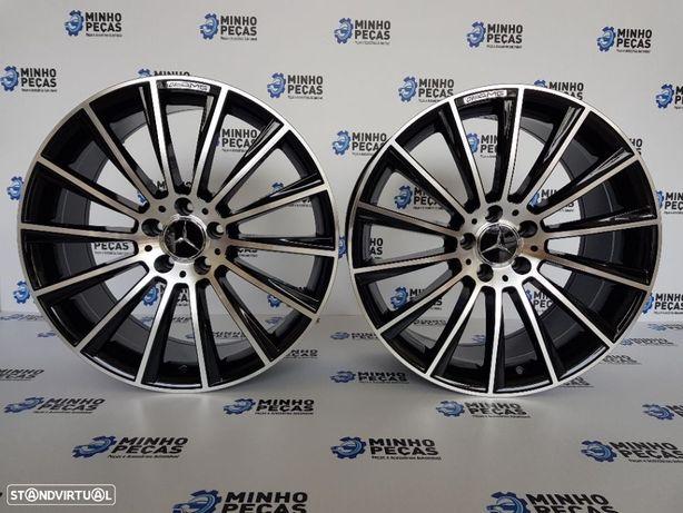 "Jantes Mercedes (C63) AMG Turbine em 18"""