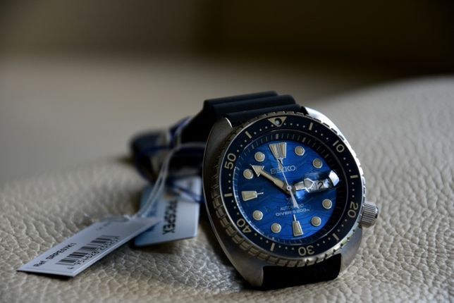 Seiko SRPE07K1 Prospex King Turtle Save the Ocean Specjal Edition NOWY
