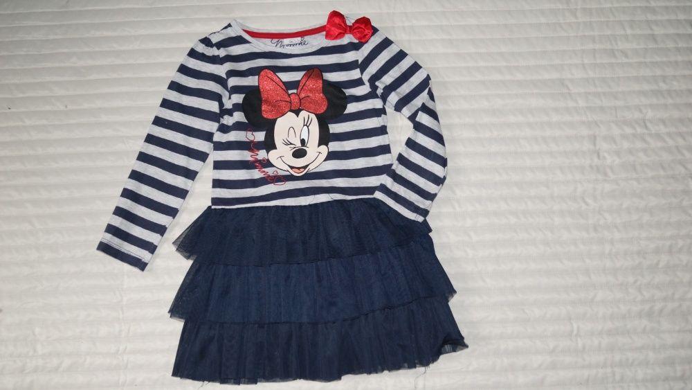 Sukienka z Myszką Minnie w roz.6-7lat/122/ firmy Young Dimension Sosnowiec - image 1