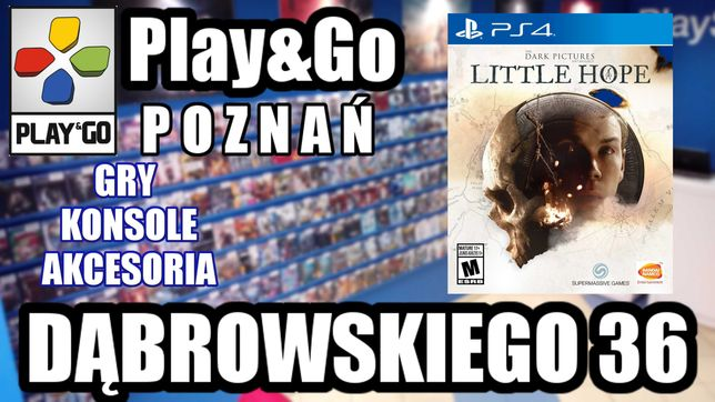 Little Hope PS4 PlayStation