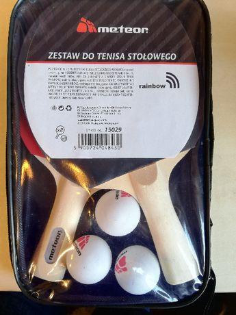 zestaw do tenisa stołowego 2 rakietki