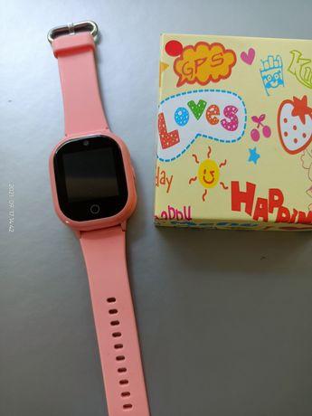 Детские смарт часы с GPS —Smart Baby WatchQ350