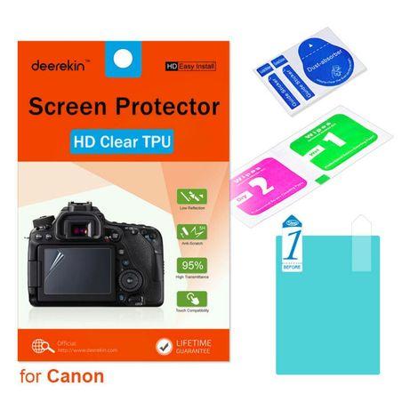 Плёнка-стекло, защита екрана Canon Mark II, G5X, EOS M50 M100
