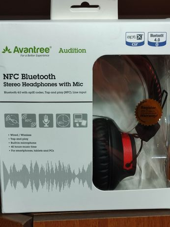 Наушники Avantree Audition с aptX, NFC, BT4