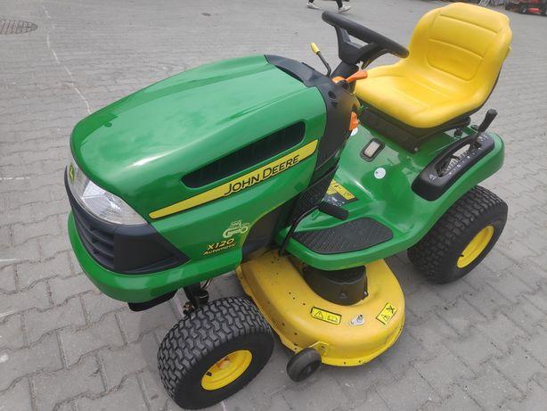 Kosiarka traktorek John Deere X120 IDEALNY! 19.5kM