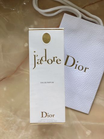 Dior Jadore edp 100 ml оригинал не распечатывались