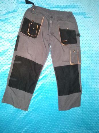 Spodnie robocze na 172 wzrostu. Używane. Art. Master classic