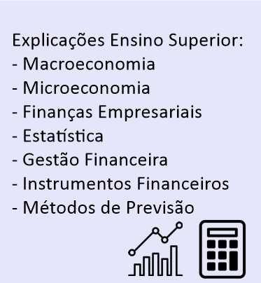 Explicações Macroeconomia,Microeconomia,Finanças, Estatística e outros