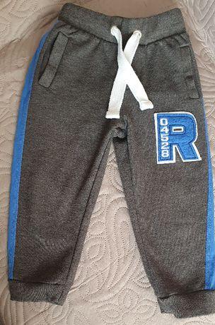 Spodnie dresowe rozm.92-98