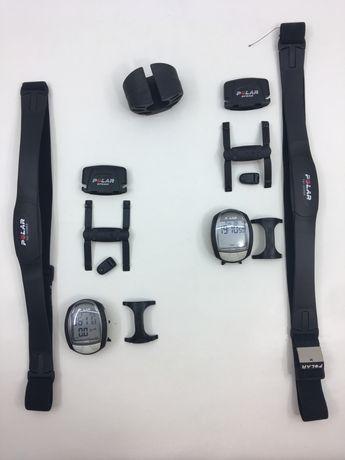 POLAR Computador de Ciclismo Sensor de Velocidade Cinto Cardio
