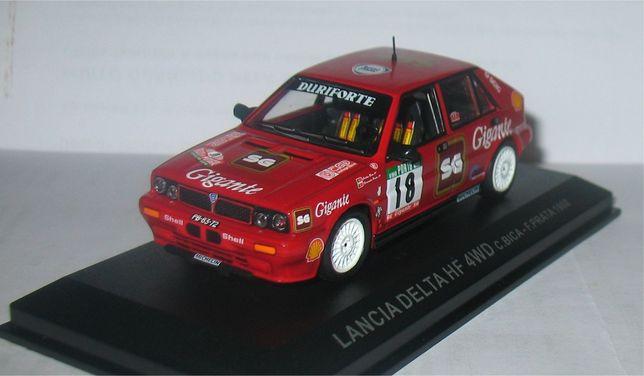 Lancia Delta HF 4WD - Rally de Portugal 1988 - Carlos Bica (MELHORADO)