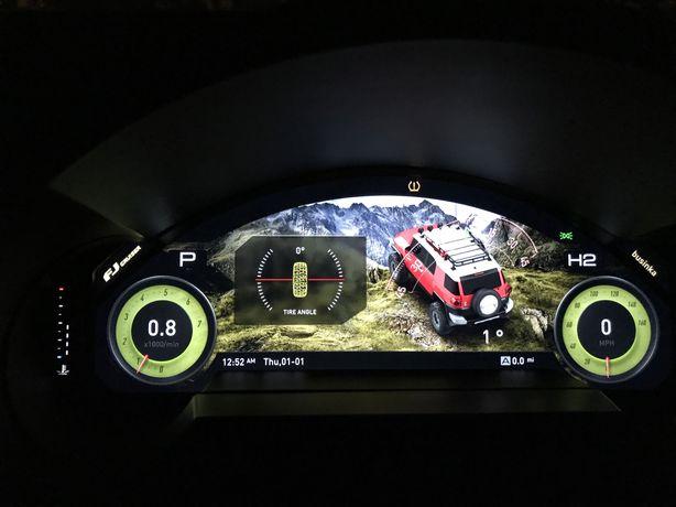 Новинка!! Toyota FJ Cruiser приборная панель FULL LED