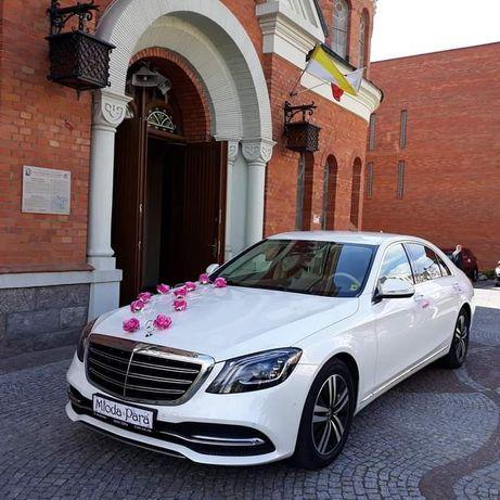 Auto do ślubu Mercedes S 2018, GLE 2021, GL, Audi Q3 S-LINE 2020, BMW