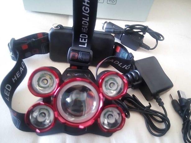 Lanterna de led com bateria