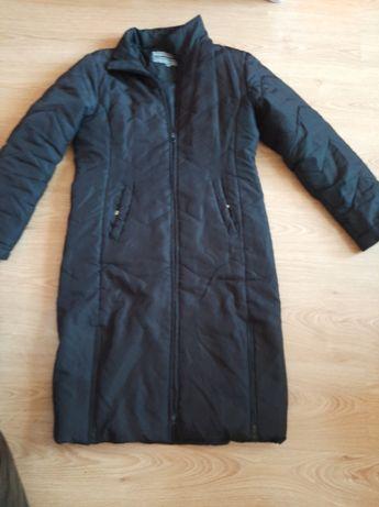 Płaszcz płaszczyk czarny 38