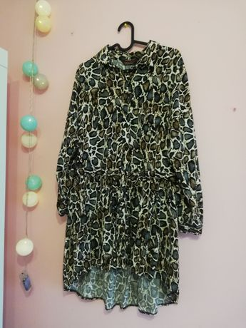 Sukienka w panterkę M