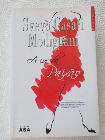 Livro - A Cor da Paixão de Sveva Casati Modignani