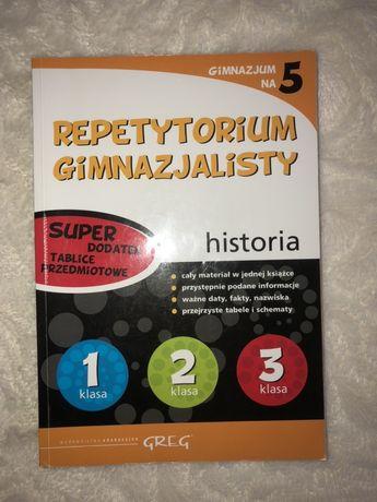 Repetytorium gimnazjalisty Historia