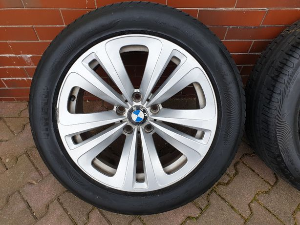 Oryginalne koła BMW alu 18 cali 245/50R18 Pirelli RUN FLAT