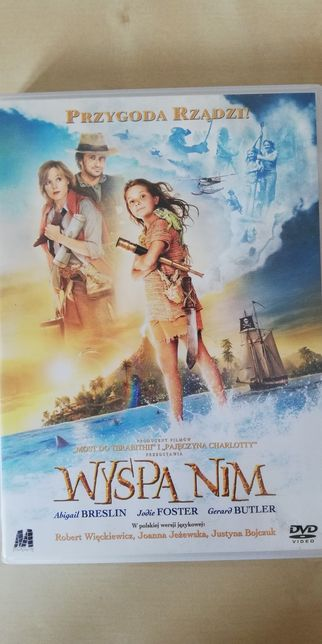 Wyspa Nim. Film DVD