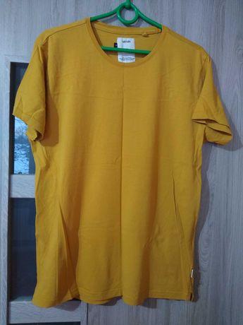 koszulka kolor musztarda