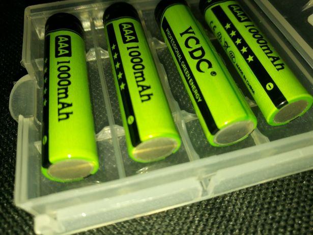 Акоммуляторные батареи YCDC AAA 1000Mah