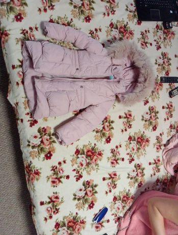 Теплые детские зимние куртки для детей , унисекс для девочек