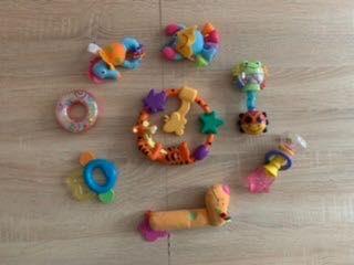 Zabawki/ grzechotki/ pluszak Mis