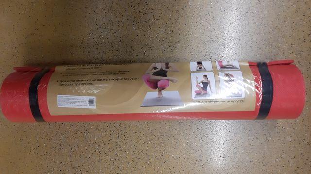 Йогамат, коврик для йоги. Підтримуйте хорошу фізичну форму вдома!