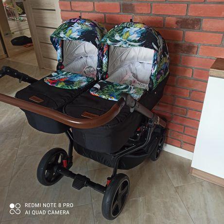 Wózek bliźniaczy Dorjan Twin Quick 3w1