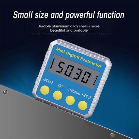Угломер уровень уклономер инклинометр электронный магнит Батарейки