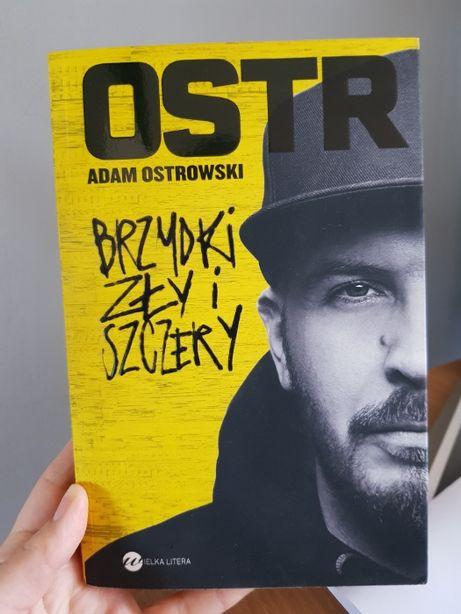 Brzydki zły i szczery OSTR Adam Ostrowski książka