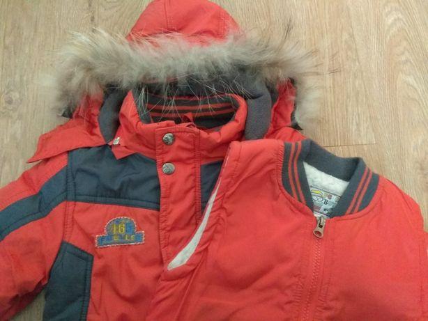 Зимова куртка на хлопчика р. 92