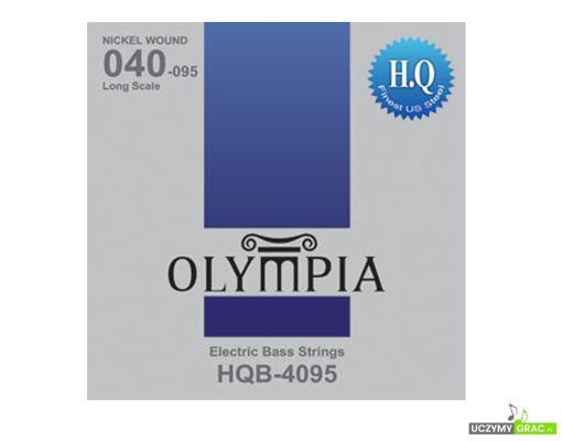 Struny do gitary basowej Olympia HQB-4095 + GRATIS: 3 PIÓRKA !!!