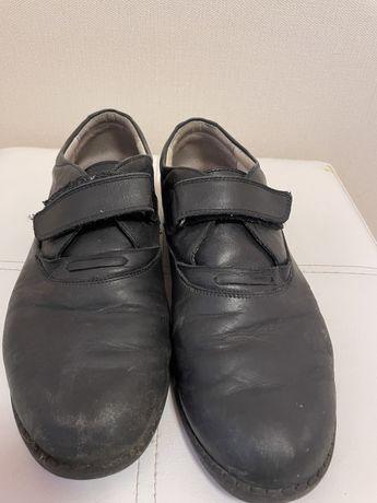 Туфли - мокасины  из натуральной кожи