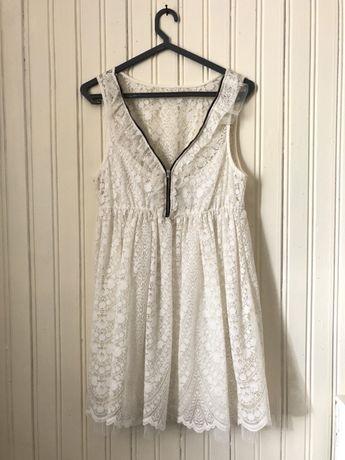 Vestido curto Rendas Zara