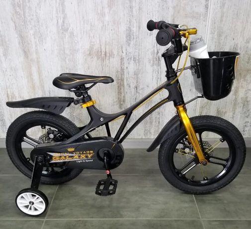 """Royal baby Galaxy 14,16,18"""" Детские велосипеды Самый стильный! Марс"""