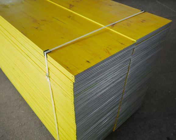 Płyta trójwarstwowa świerkowa 21x500x2000,szalunki stropowe, sklejki