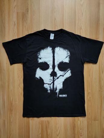 Футболка Call of Duty Ghosts (Skull) футболка с принтом черепа