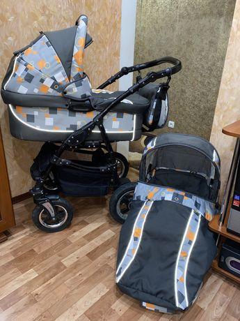 Польская коляска зима - лето, 2 в 1 после 1 ребенка