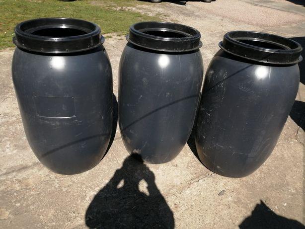 Beczki plastikowe 220l i 250 większy wybór